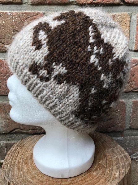 Mütze aus Islandwolle